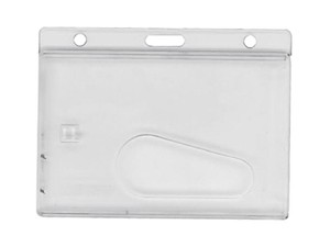 Horizontal Card Dispenser w/Thumb Notch-50 pack