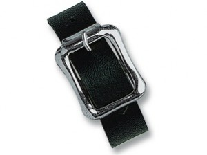 2420-2111 - 7 Black Vinyl Luggage Strap-5000 pack