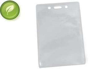 Eco-Friendly Large Vertical Badge Holder-100 Pack
