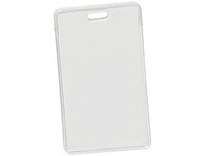 Vertical Flexible Vinyl Prox Card Holder 100 pack