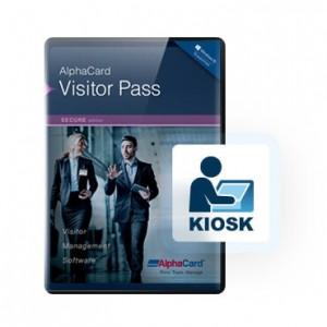 AlphaCard Visitor Pass Kiosk