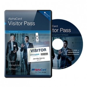 AlphaCard Visitor Pass Standard Software