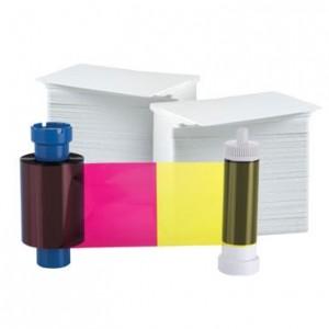 AlphaCard YMCKOK 250 Print Ribbon Card Pack