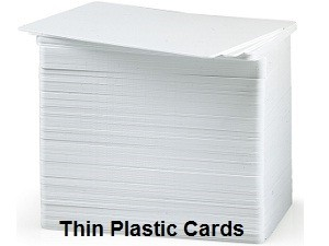 Blank White CR80 20mil PVC Cards-100 pack