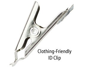 Horizontal - Clothing-friendly Clip-100 pack