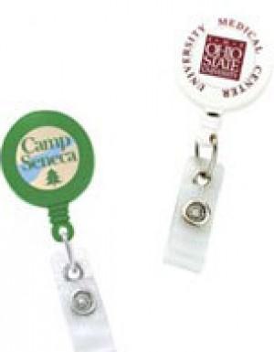 Standard Round Custom Printed Solid Badge Reels