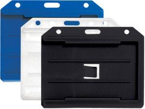 Hard Plastic Multi ID Card Holder-50 pack