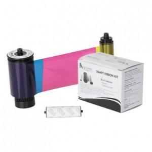 IDP 650637 SMART Printer Ribbon - YMCKOK