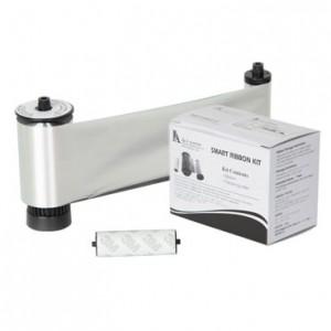 IDP Resin Metallic Silver Monochrome Ribbon Kit – 3000 Prints