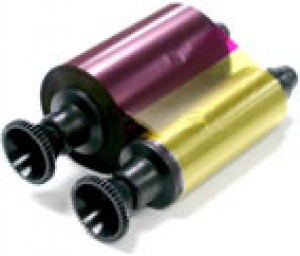 Evolis R3011 - YMCKO Color Printer Ribbon