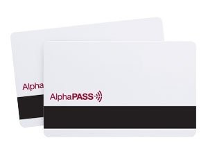 AlphaPass Proximity Card with Mag Stripe-Qty 25