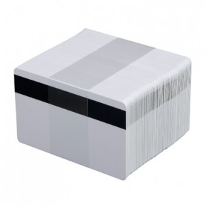 Blank Mag Stripe PVC Cards-100 pack