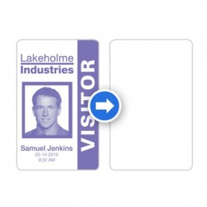 Rewritable ID Cards-100 cards