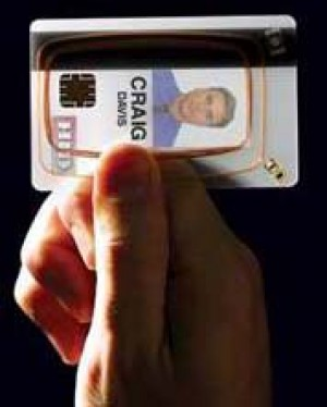 Standard HID i-Class Card w/ HID Prox - 100 Cards