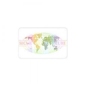 7 Mil Adhesive World Design Overlay-100 pack