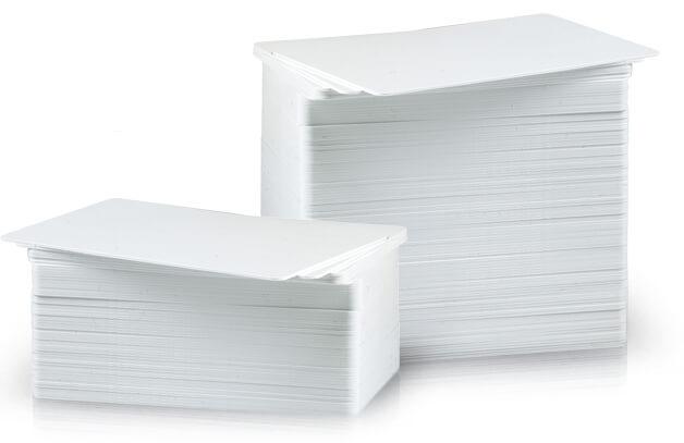 Standard White PVC Cards
